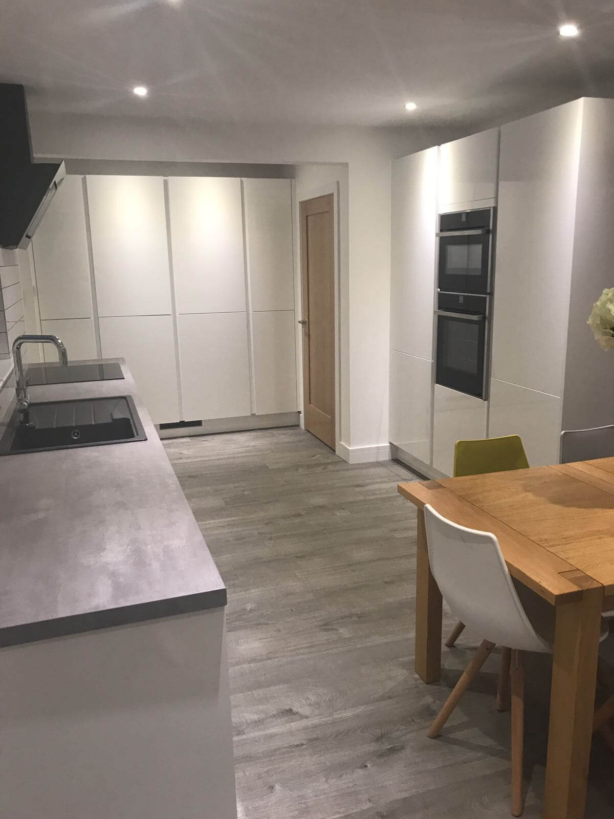 Kitchen, utility and dining room alterations