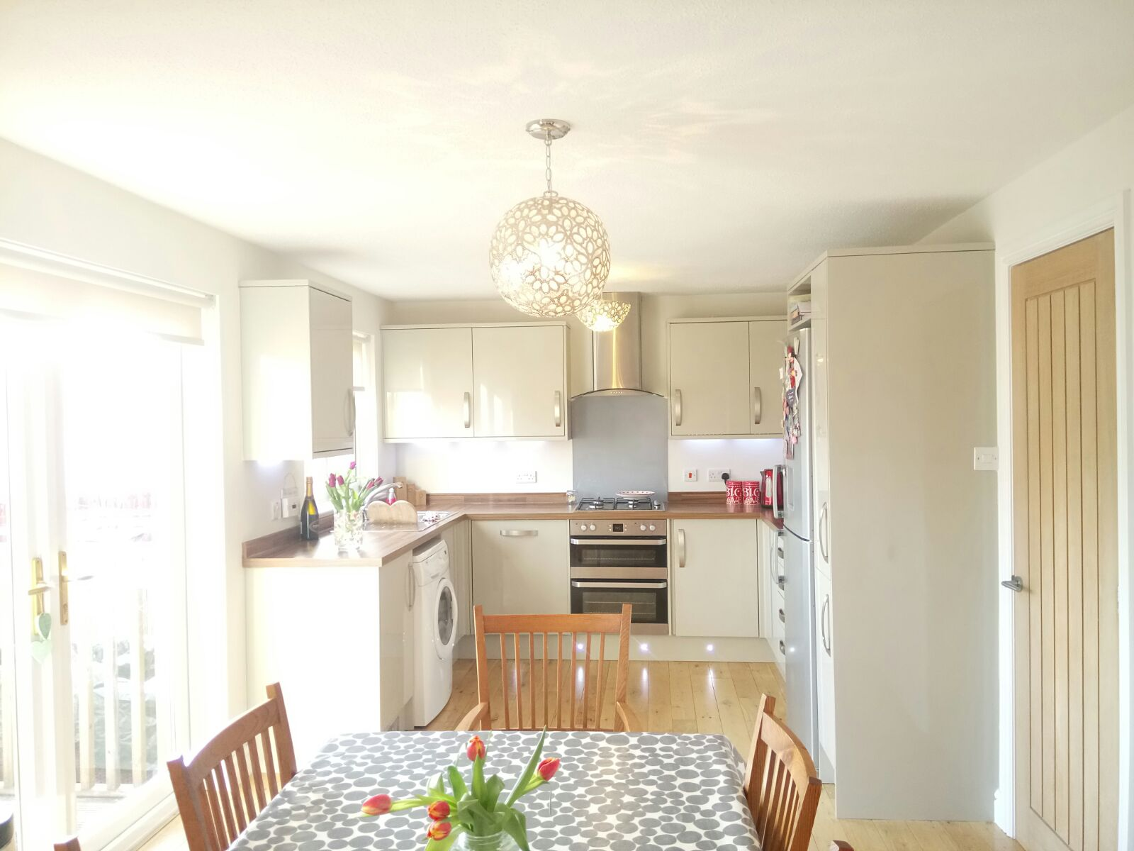 Kitchen installation & solid oak flooring